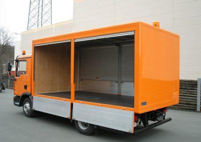 Sonderaufbauten Puppe Fahrzeugbau