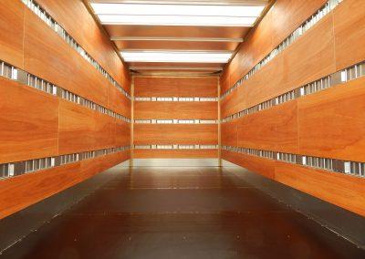 Ladungssicherung Kofferaufbauten