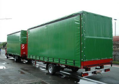 1 Achs-Anhänger Puppe Fahrzeugbau